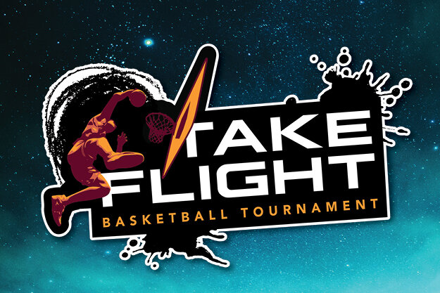 Take Flight Basketball Tournament Logo