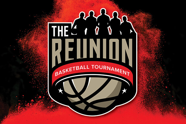 The Reunion Basketball Tournament Logo